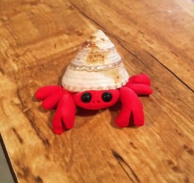 Cute Little Crab Figurine -  New OOAK - Handmade