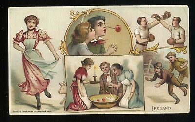 Lot 60: 1893 K-4 Arbuckle Coffee Sports & Pastimes Nations, Ireland Boxing