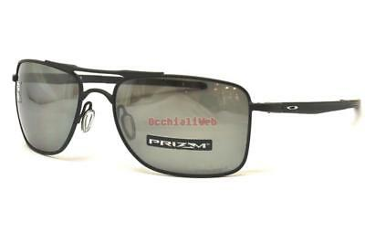 bb99e5f11e OAKLEY SUNGLASSES GAUGE 8 L OO4124-02 Matt Black Prizm Black ...