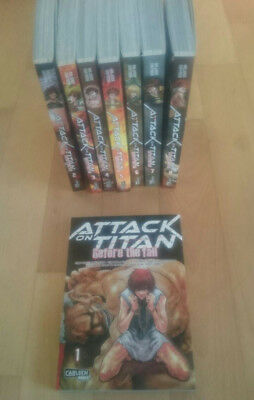 Attack on Titan - Before the Fall - Band 1-8  / Manga