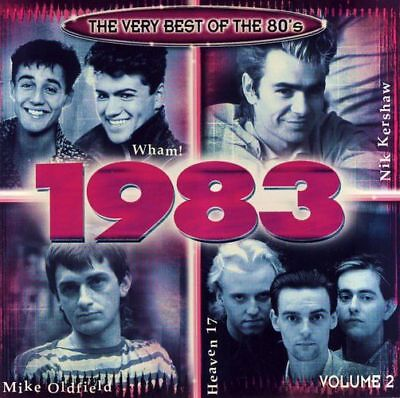 CD - The Very Best of the 80's: 1983, Volume 2
