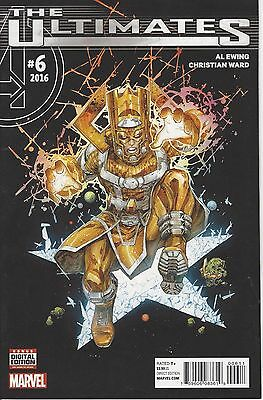 Ultimates #6 Gold Galactus On Cover By Marvel Comics Bad @$$