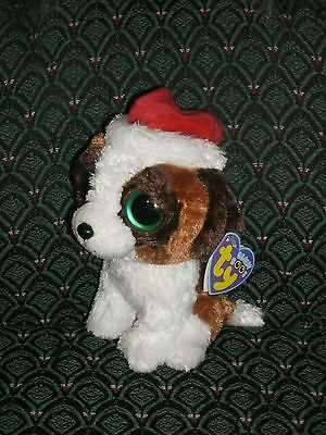 Ty Beanie Boo ~PRESENTS ~ CHRISTMAS DOG ~2012~ MINT with MINT TAGS ~  ~ RETIRED