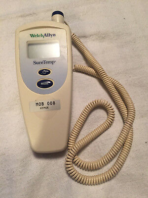 WELCH Allyn SureTemp thermometer with covers