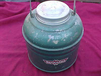 Vintage Collectible Water Jug Cooler By Western Field