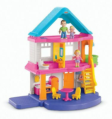 Fisher-Price Loving Family My First Dollhouse Frustration-Free Packaging