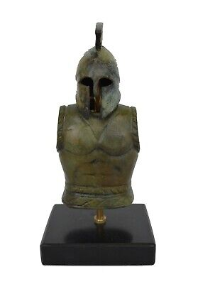 Greek Spartan Corinthian Mini Helmet - Armor - Antique Style - Pure Bronze Item