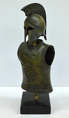 Greek Spartan Corinthian Small Helmet - Armor - Antique Style - Pure Bronze Item