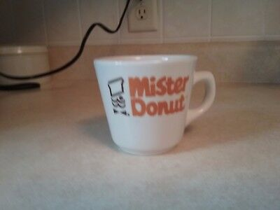 coffee mug Mister Donut ivory color
