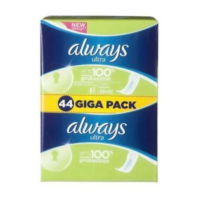 ALWAYS Serviettes hygiéniques Ultra Normal x 44