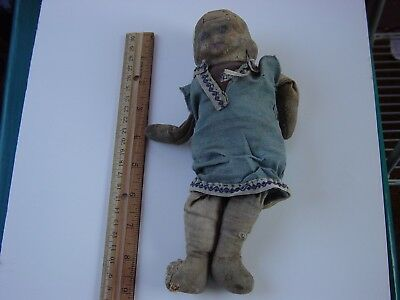 Vintage Doll Might Be Hand Made-LOOKS Very Old