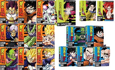 Wholesale Dragon Ball DVD Lot Z GT All Funimation You pick. Free USA Shippiing!