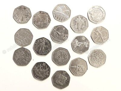 Rare Collectible 50p Fifty Pence Coins 50ps Olympics, Beatrix Potter, etc -pick!