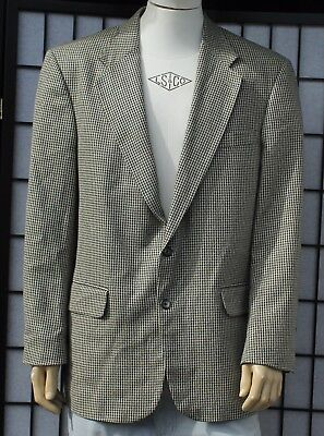 Coldwater Creek Mens Wool & Silk Two Button Blazer Sports Coats 42R