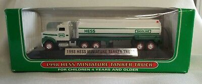 1998 Hess Miniature Tanker Truck 1st in Series