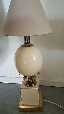 Ancienne Lampe oeuf style Barbier ou Charles