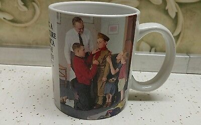 Boy Scouts Of America Norman Rockwell Mug Mighty Proud