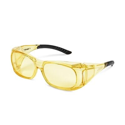 Elvex SG-37A OVR Specs II Shooting/Safety Over Fit Glasses ANSI