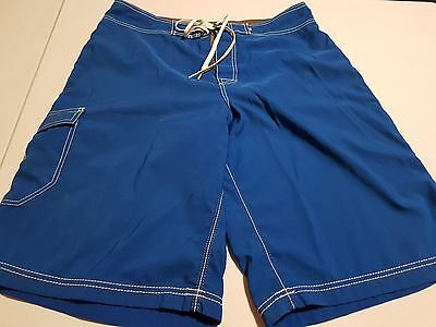Mens Billabong Blue Board Shorts, Size 34