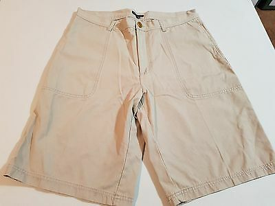 Mens Clay & Brooks Beige Shorts, Size 34