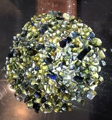 223.5ct Massive Lot of Untreated Australian Sapphire Facet Rough
