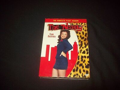 The Nanny - The Complete First Season (DVD, 2005, 3-Disc Set.......NEW & SEALED*