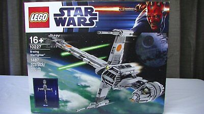 Lego Star Wars NEW UCS 10227 B-wing Starfighter Sealed Set *Free Shipping*