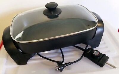 Kambrook 2200W Family Banquet Electric Frypan Frying Fry Pan