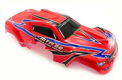 Thunder Tiger e-MTA G2 Red Body Set, Factory Trimmed with Decals; PD09-0115