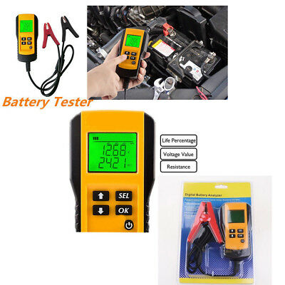 AE300 12V Car Vehicle Battery Tester Voltage Checker Automotive Analyzer  V122HC