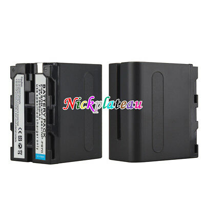7200mah NP-F960 NP-F970 Rechargeable Battery For Sony F960 F970 Digital Camera