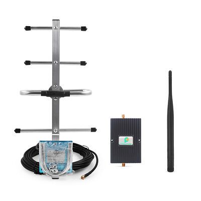 850MHz GSM 3G LTE 4G Extender +Yagi Antenna for Mobile Voice Data Fast Shipping