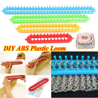 5 Sizes ABS Plastic Loom For Scarf Shawl Hat Socks Long Knit Knitter Knitting