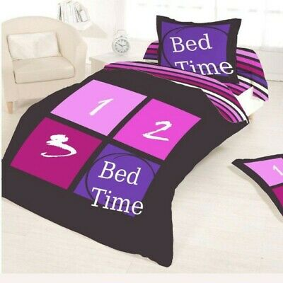 Housse de couette BED TIME STRIPES 1 2 3 140 x 200 +1 Taie