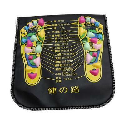 Chinese Reflexology Stone Pain Relieving Foot Massaging Mat via Acupressure