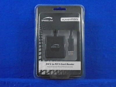 PS2 To PS3 MEMORY CARD ADAPTER IMPORT DATA Speed Link Brand New