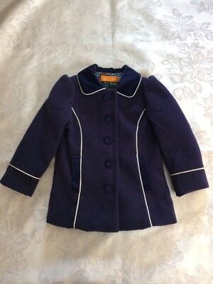 Mothercare Little Bird - Baby Girl - 18 - 24 Months - Smart Navy Coat