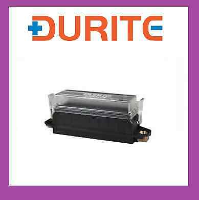 Durite 8 Way Panel Mount Mounted standard Blade Fuse Box With Cover 0-234-18
