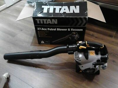 Titan petrol 4 in 1  multi tool brushcut strim long hedge trim mini chainsaw