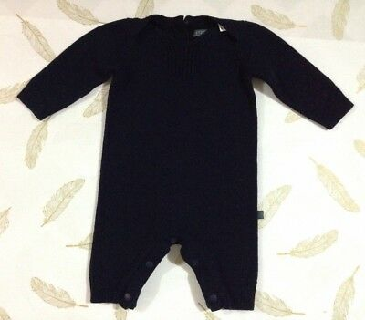 Fred Bare Baby Boys Knit Romper Size 000