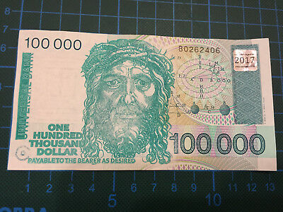 one Law of Attraction Affirmation Banknote // made out of a genuine Banknote
