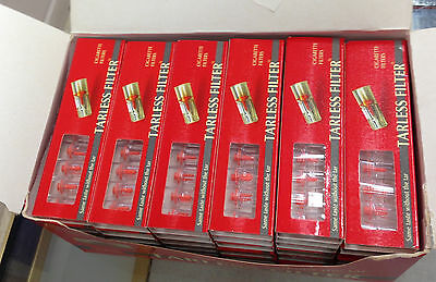 Tarless Cigarette Filters Box of 360 filters