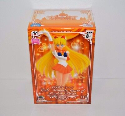 Banpresto Sailor Moon Girls Memories Figure 6.3 inch Sailor Venus Anime Toy