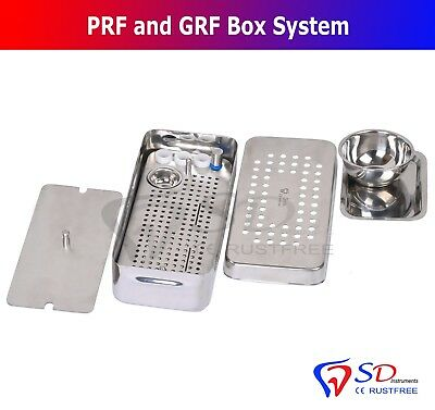 Complete Dental Implant PRF & GRF Box Platelet Rich Fibrin Surgery Cassette NEW