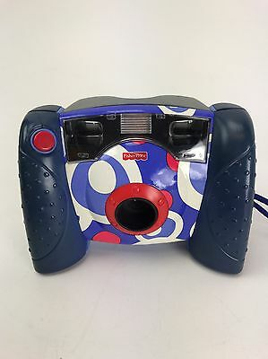 Fisher Price Kids Digital Toy Camera Built in Flash Purple Fast Free Shipping