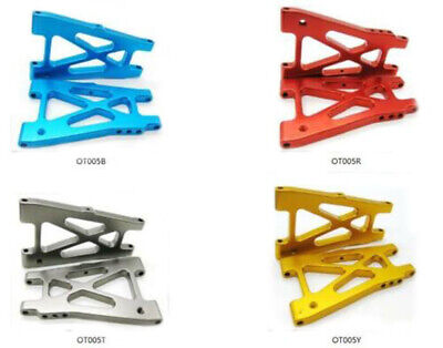 Alloy Aluminum rear Lower Susp Arm for Kyosho Optima 1/10 4wd Buggy car upgrade