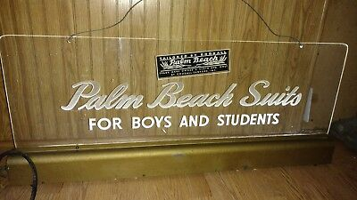 Vintage Palm Beach Suits for Boys & Girls advertising sign