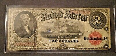 1917 2$ Two Dollar United States Note