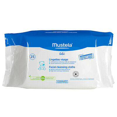 Mustela Facial Cleansing Cloths 25 Pack Online Only