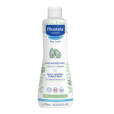 Mustela Multi Sensory Bubble Bath 750ml Online Only